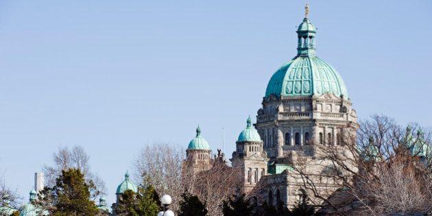 Canada, British Columbia, Vancouver, Parliament Buildings, Victoria