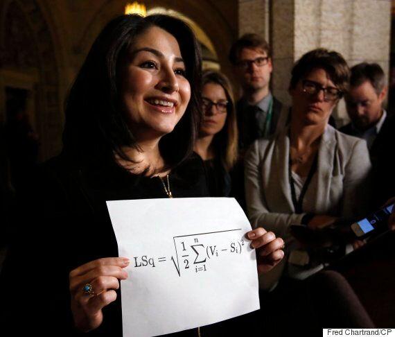 Maryam Monsef Tries To Use Math Formula To Mock Electoral Reform