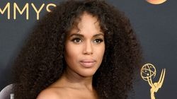 Kerry Washington's Hair At The Emmys Was Beyond