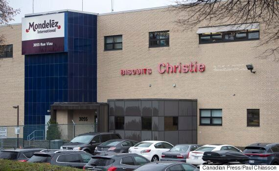 Mondelez' Montreal Cookie Factory To Shut Down, Throwing 454 Out Of