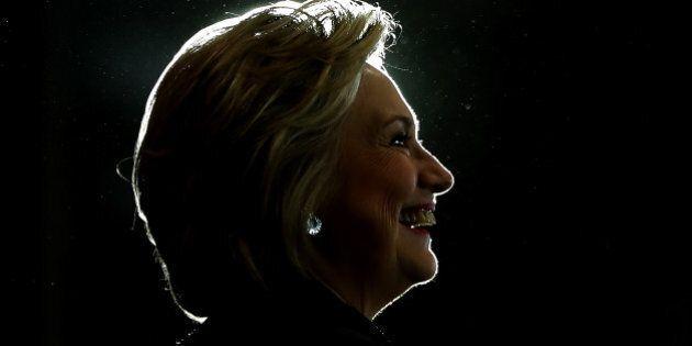 WASHINGTON, DC - SEPTEMBER 16: Democratic presidential nominee former Secretary of State Hillary Clinton...