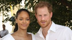 Prince Harry Spends Time With Rihanna In