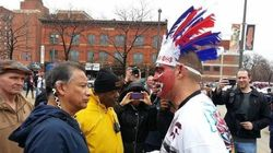 2 Years After He Wore Red Face, Indians Fan Asks For
