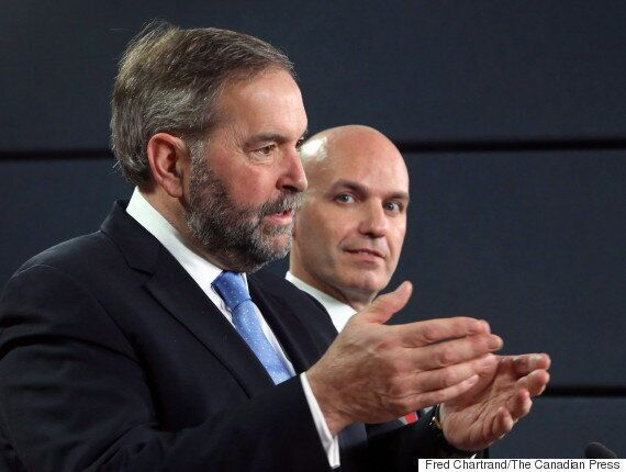 Mulcair's Leadership Not The Only Question New Democrats