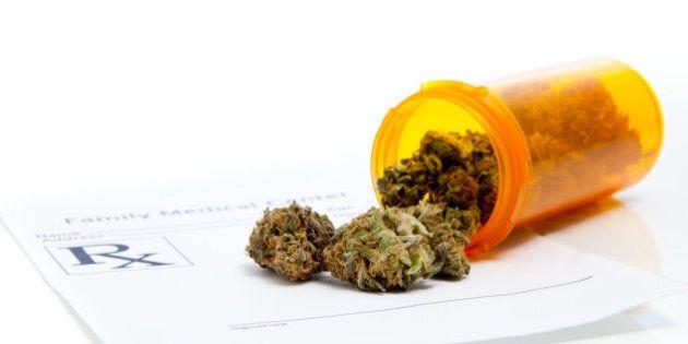 Prescription for medical marijuana from family health care doctor