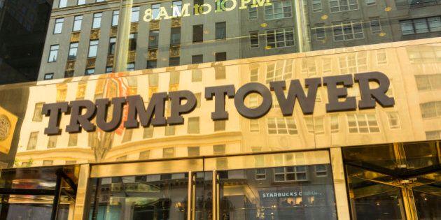 Trump Tower, New York City, New York State,