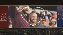This Powerful NFL Kiss Cam Video Proves 'Love Has No