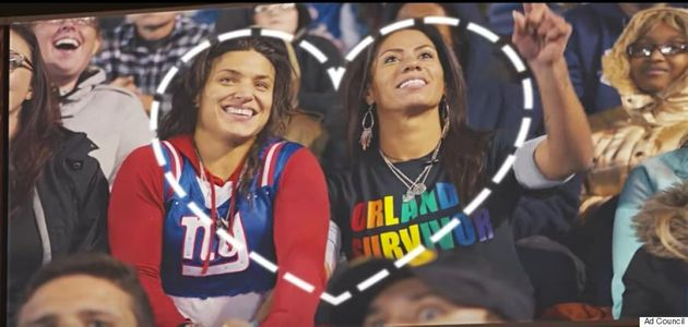 NFL's Pro Bowl Kiss Cam PSA Proves Love Comes In All Different