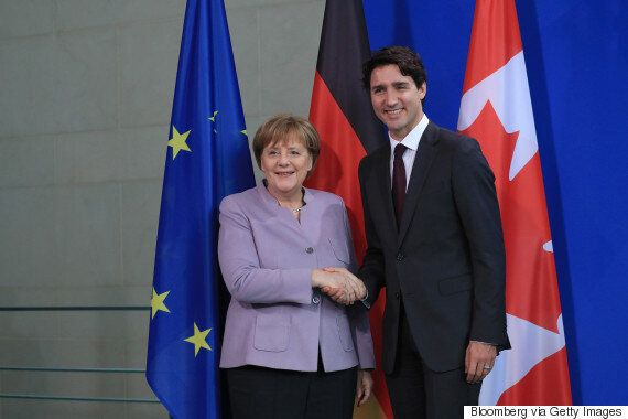 Trudeau: Canada, Germany Do Much Of NATO's 'Heavy