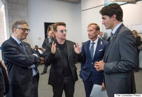Bono Sings Canada's Praises At Global Fund Conference In