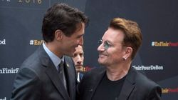 Bono Can't Stop Gushing About Canada And