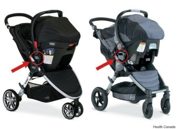 Britax Recalls 36K Stroller Systems In Canada After Car Seats Fall