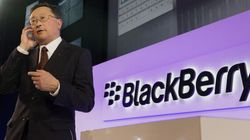 BlackBerry Market Share Now At