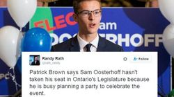 Ontario PC Leader Offers Unusual Reason For Teen Politician's