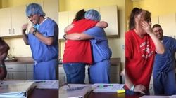 Marine Surprising His Mom During Chemo Will Make You