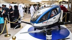 Dubai To Launch Flying Drone Taxis In