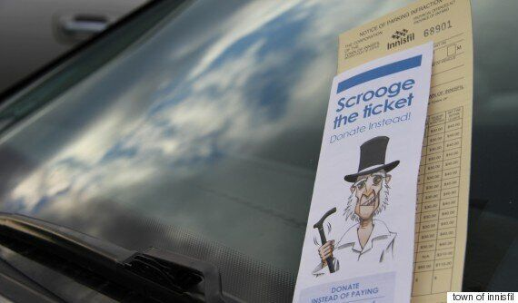 Innisfil, Ontario Lets Residents Pay For Parking Tickets With Food Bank