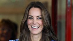Kate Middleton Tries The Side Slit
