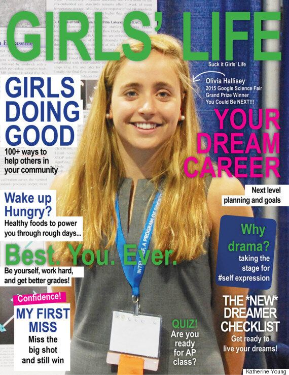 Graphic Designer Gives Girls' Life Magazine An Empowering