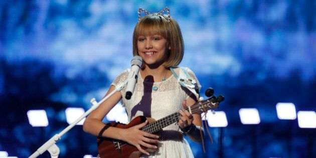 AMERICA'S GOT TALENT -- 'Live Finale Results' Episode 1123 -- Pictured: Grace VanderWaal -- (Photo by: Trae Patton/NBC/NBCU Photo Bank via Getty Images)
