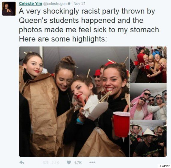 Queen's University Investigates Racist Costume
