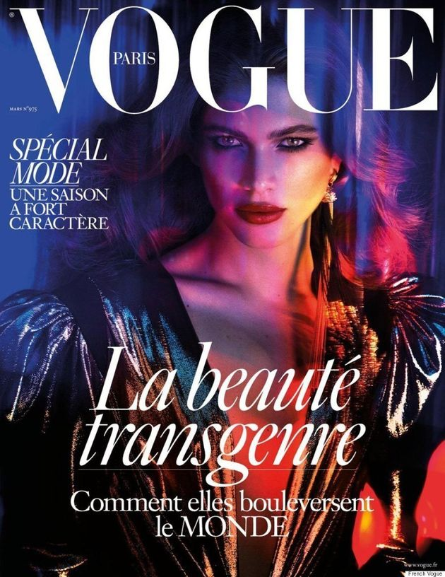 Valentina Sampaio Is The First Transgender Model To Cover French