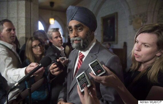 Harjit Sajjan Backs Off Comments About First Nations Calling In