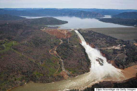 Oroville, California Evacuated As Dam Teeters On Brink Of