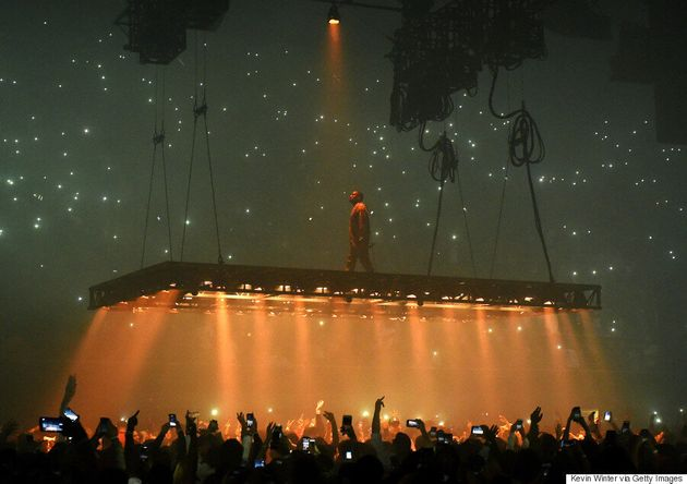 Kanye West Hospitalized After Scrapping Saint Pablo