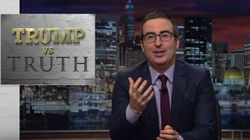 John Oliver Has Genius Plan to Sneak More Facts Into Trump's