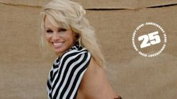 Pamela Anderson Sure Knows How To Celebrate