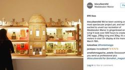 British Manor Gingerbread Replica Is Unlike Anything You've Seen