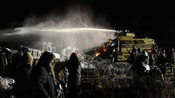 Police Use Water Cannons To Repel Standing Rock