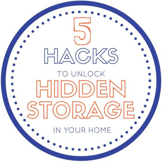 5 Hacks To Unlock The Hidden Storage In Your