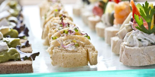 catering snacks appetizers