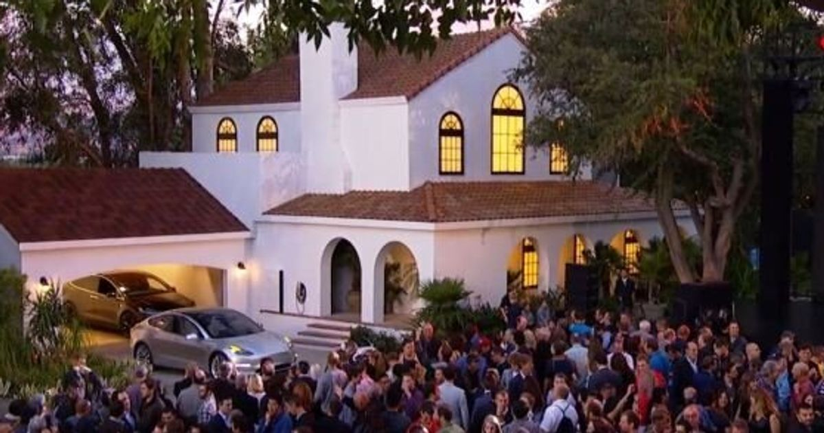 Tesla's Solar Roof Will Cost Less Than A Normal Roof, Elon Musk Says
