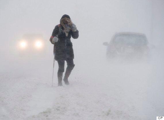 Brutal Blizzard Hits Nova Scotia, New Brunswick,