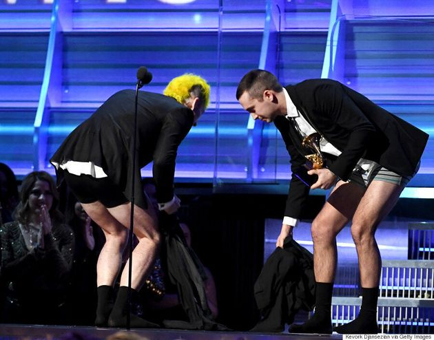 Twenty One Pilots Accept Their First Grammy
