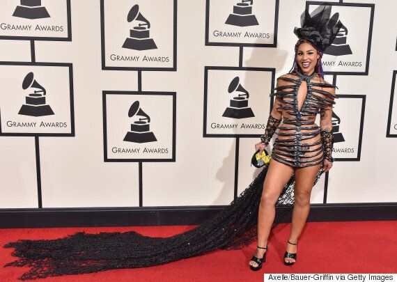 Joy Villa Showed Up At The Grammys To Make Dresses Great Again. Uh,
