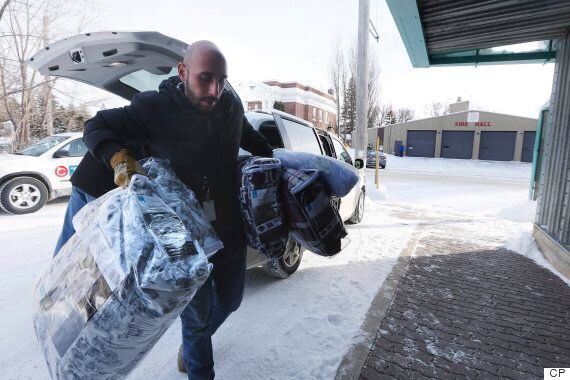 Emerson, Manitoba Saw 21 People Illegally Crossing Border From U.S. This Weekend: