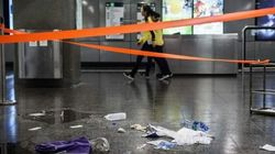 Hong Kong Arsonist Arrested After 18 Injured In Subway Car