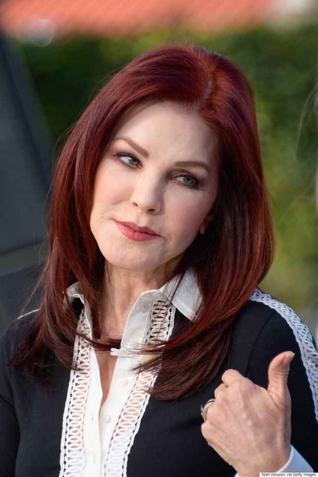 Priscilla Presley Says Elvis Never Saw Her Without Makeup On