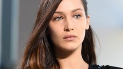 Bella Hadid Took A Pretty Bad Tumble On The Michael Kors