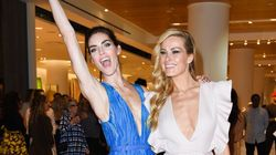 Petra Nemcova And Hilary Rhoda Celebrate Opening Of Nordstrom