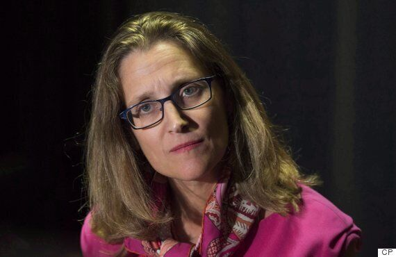 Chrystia Freeland Heading On Tour To Save Canada-EU Trade