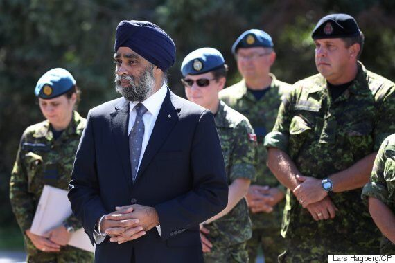 Harjit Sajjan Mulls Giving First Nations The Power To Call In