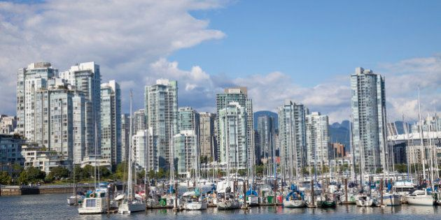 Vancouver skyline, British Columbia,