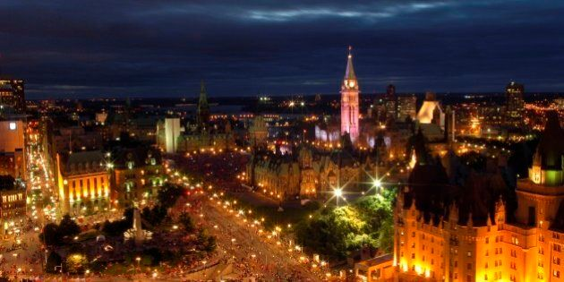 Canada Day in Ottawa,