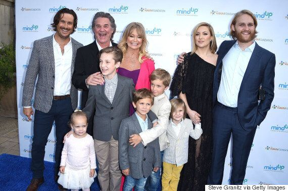 Kurt Russell And Kate Hudson Just Set Gold Standard For Step-Families