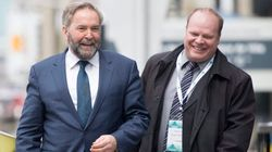 Mulcair Hints At Magic Number He Needs To Stay
